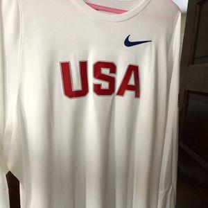 Nike USA shooting shirt